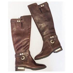 VINCE CAMUTO Brown Prini Tall Boots 5